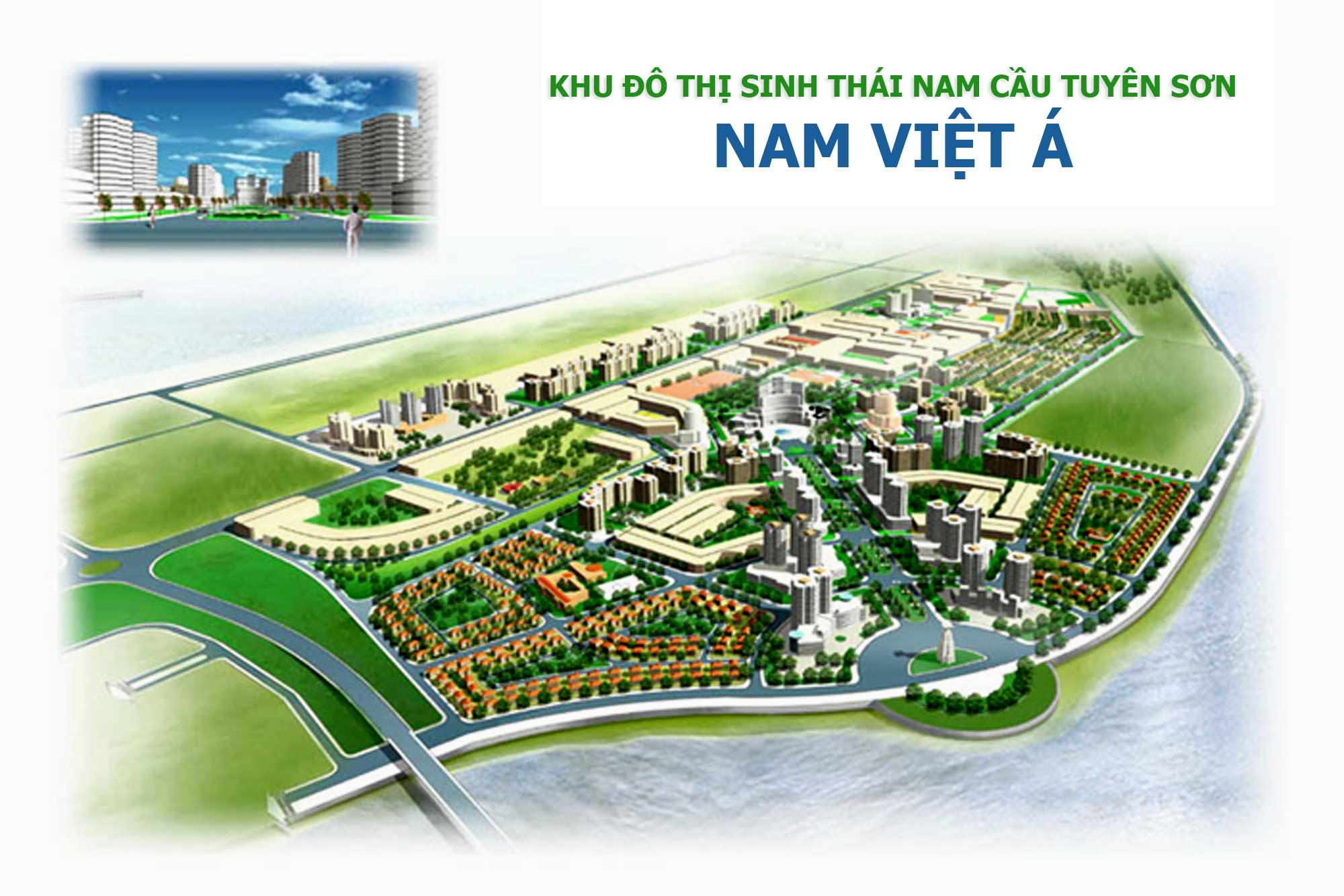 Đất Nam Việt Á Đà Nẵng, dự án khu đô thị nam cầu Tuyên Sơn