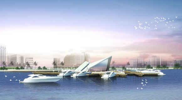 Bến du thuyền khu đô thị Phương Trang