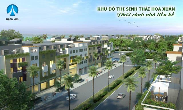 Dãy nhà liền kề tại Khu đô thị Hòa Xuân Đà Nẵng